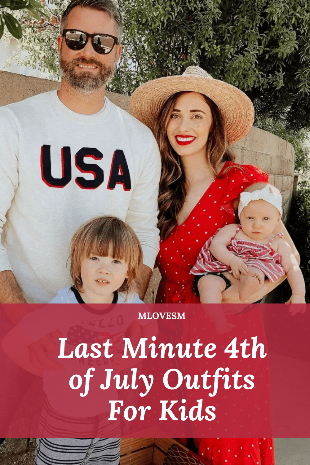 Here's last minute 4th of July outfits for kids! - M Loves M @marmar