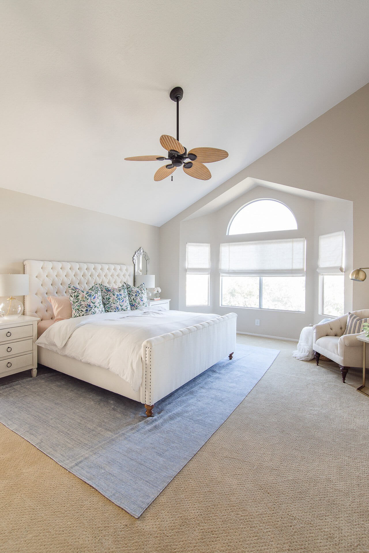 Here's my bedroom with neutral decor! - M Loves M @marmar