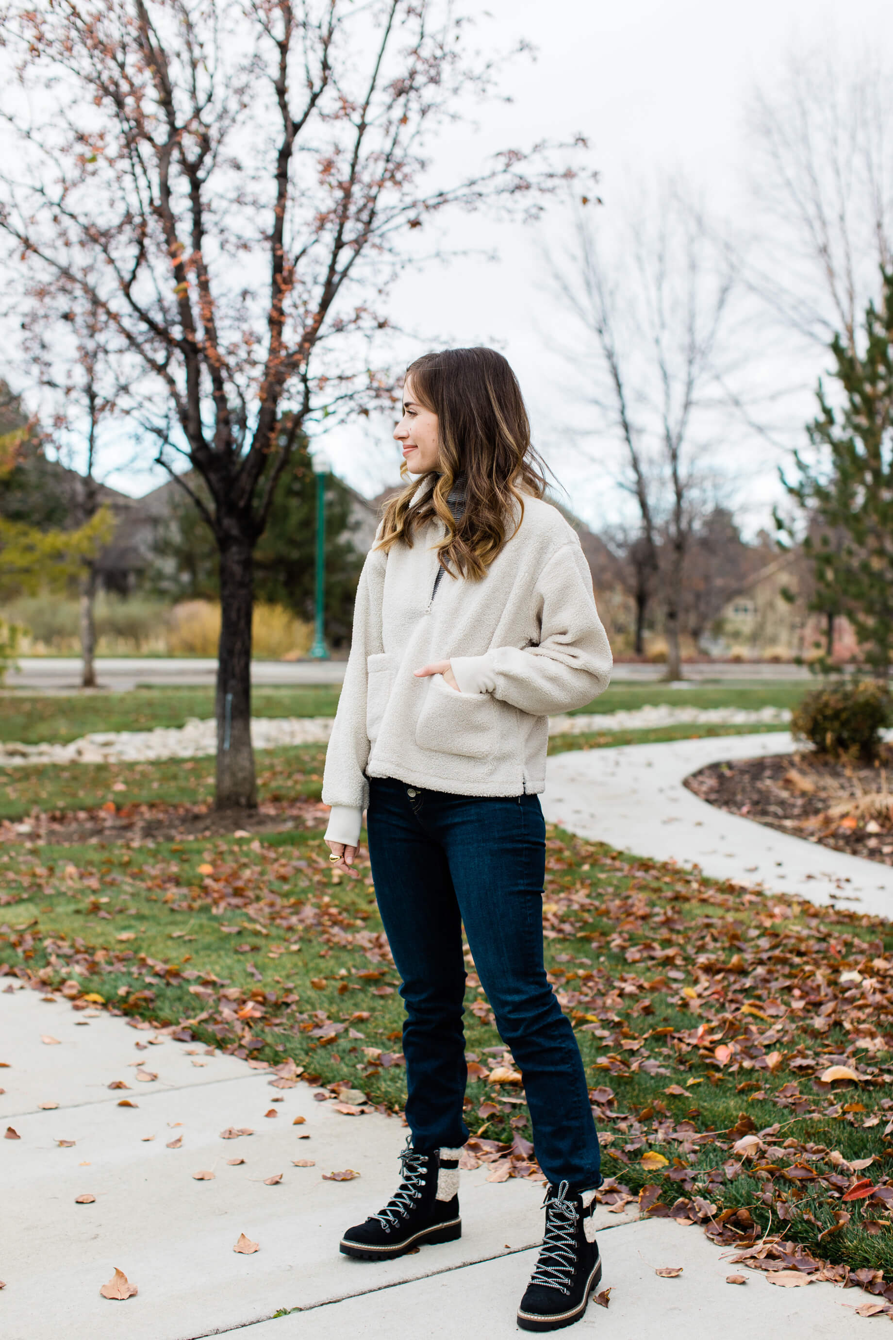 cute layered winter outfit for running errands - M Loves M @marmar