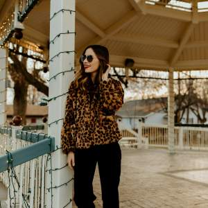 winter leopard outfit inspiration - M Loves M @marmar