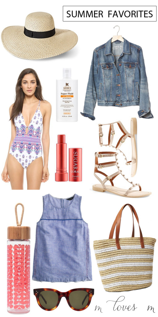 summer favorites for 2015 M Loves M @marmar