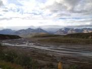 Glacial river in Denali National Park.
