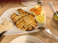 the best fish ever. it was like steak.