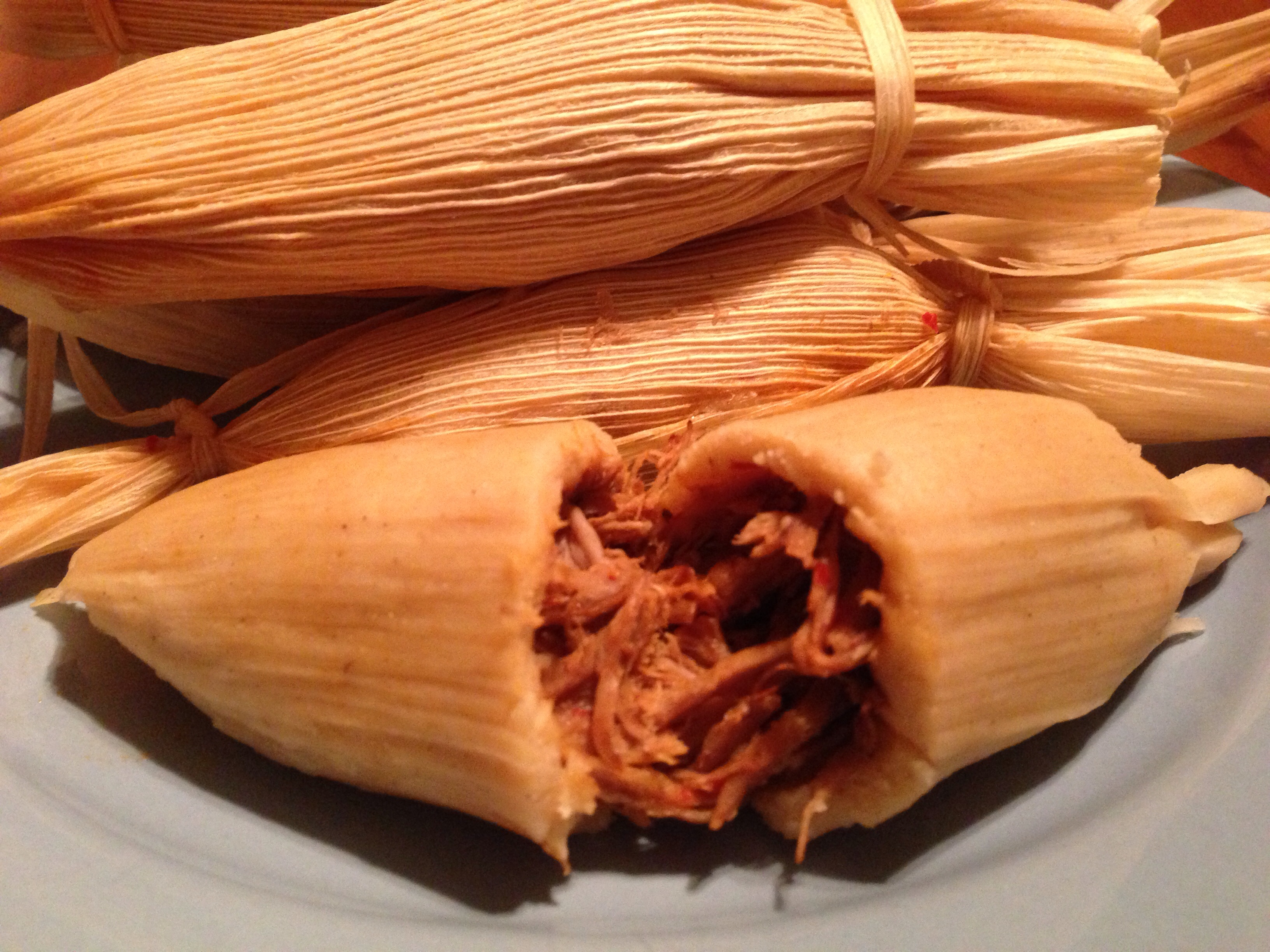 Traditional Tamales And Gorditas Mexico
