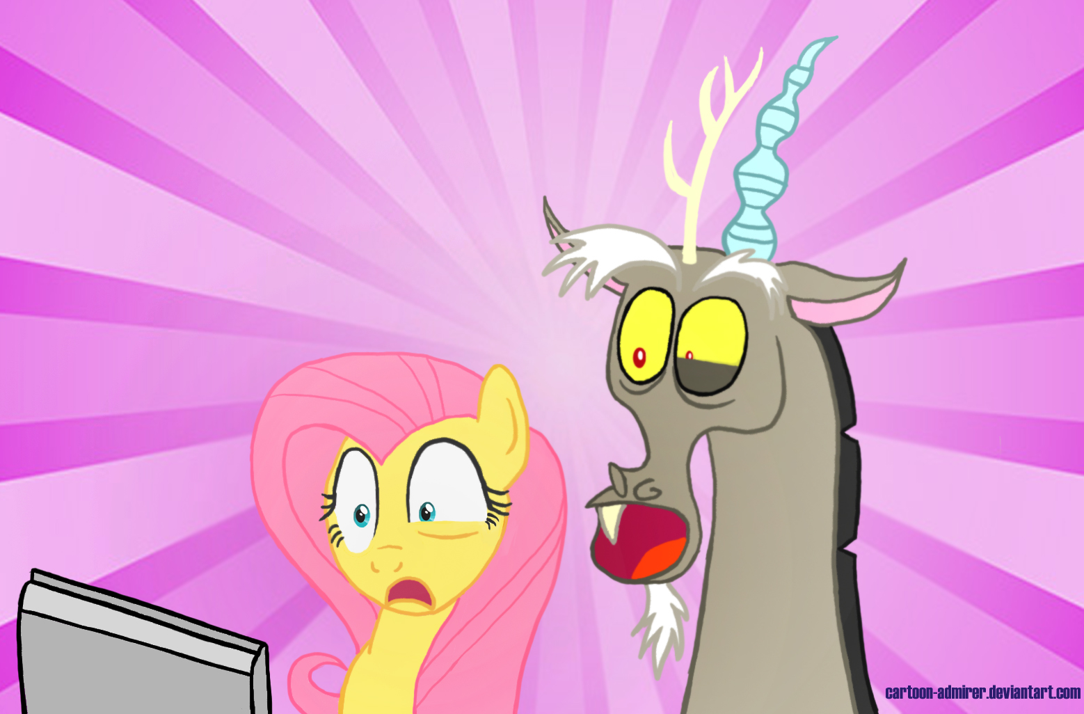 Are Fluttershy And Discord More Than Just Friends?
