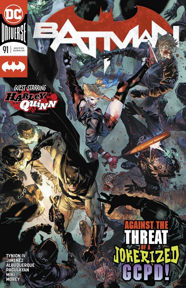 """REVIEW: Batman #91 -- """"The Big Bad Is As Blank A Slate As The Mask On His Face"""""""