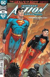 """Couverture principale d'Action Comics # 1022 """"largeur ="""" 350 """"hauteur ="""" 538"""