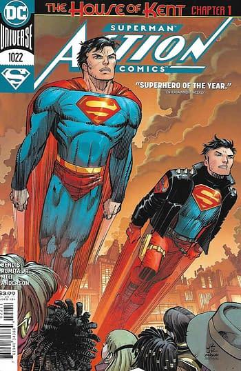 Couverture principale d'Action Comics # 1022