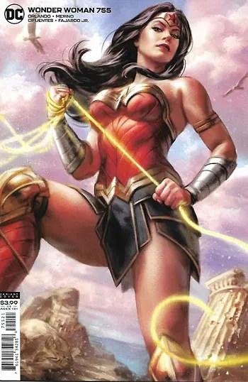 Wonder Woman # 755 Variant Cover