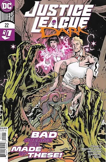 Couverture principale de Justice League Dark # 22