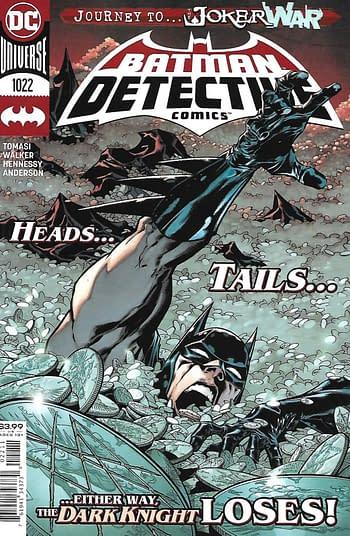Capot principal de Detective Comics # 1022