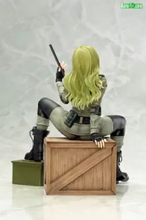 Metal Gear Solid Снайперский волк нацелен на котобукию