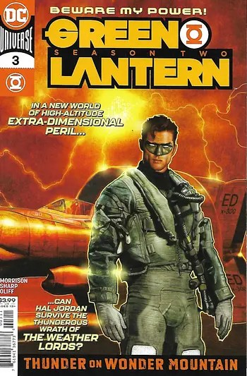 Green Lantern Season 2 # 3 Main Cover