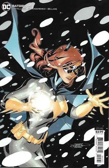 Batgirl # 45 Variant Cover