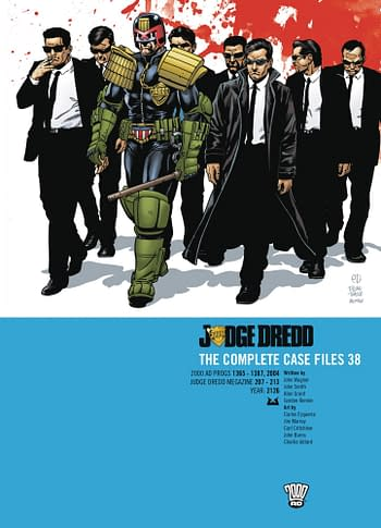 Cover image for JUDGE DREDD THE COMPLETE CASE FILES 38 TP