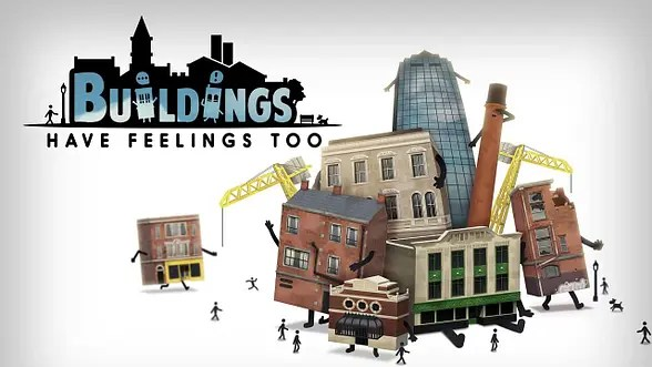 Now you'll discover what its like to house a city in Buildings Have Feelings Too! Courtesy of Merge Games.