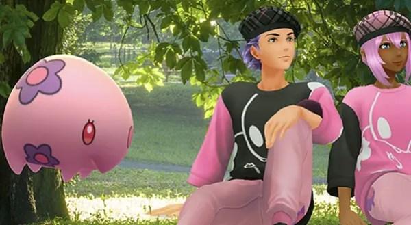 Munna in Pokémon GO. Credit: Niantic