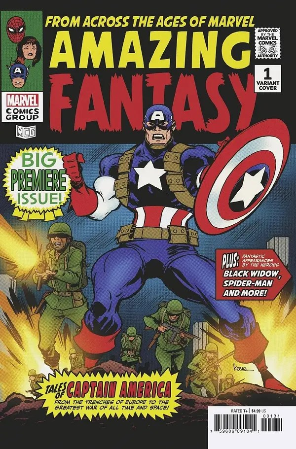 Cover image for AMAZING FANTASY #1 (OF 5) ANDREWS VAR
