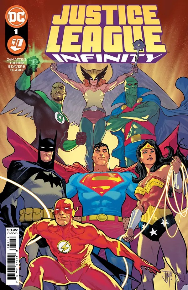 Justice League: Infinity #1 Review | The Aspiring Kryptonian