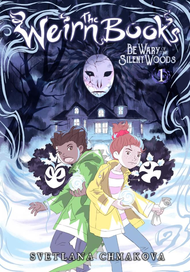 "Yen Press Announces Svetlana Chmakova's ""The Weirn Books"""