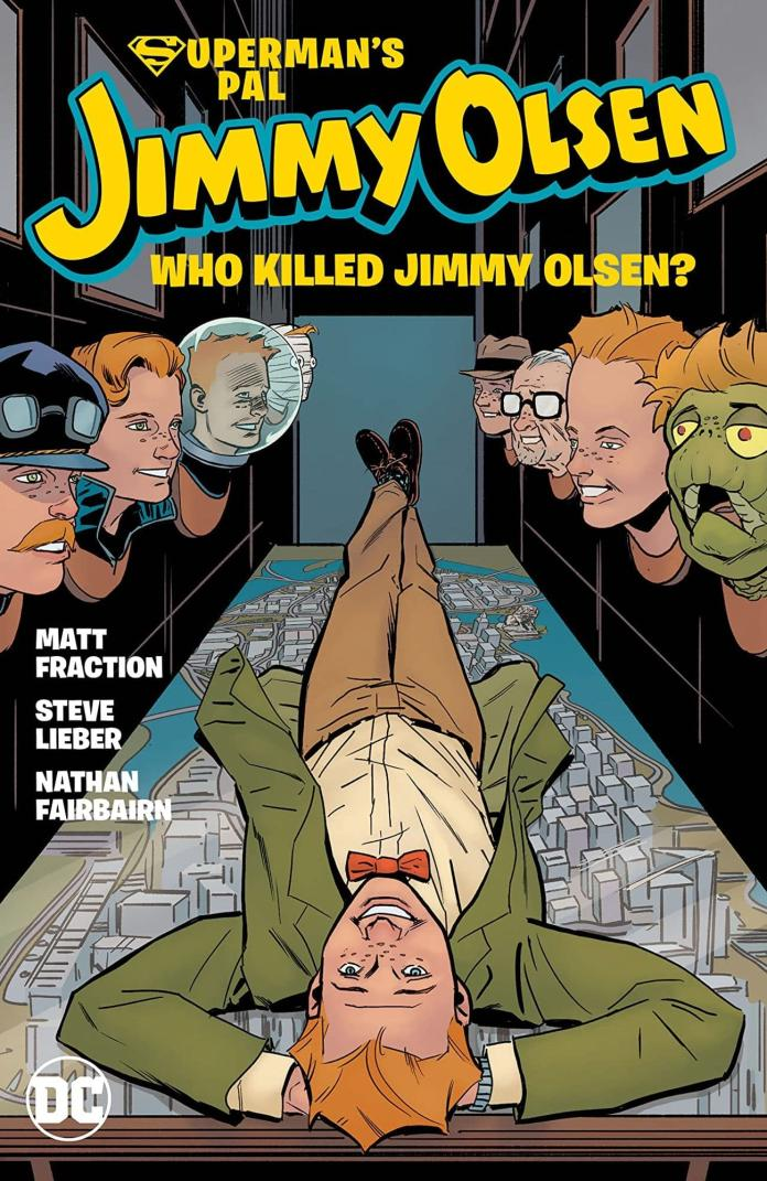 Some Thoughts On Superman's Pal Jimmy Olsen: Who Killed Jimmy Olsen?