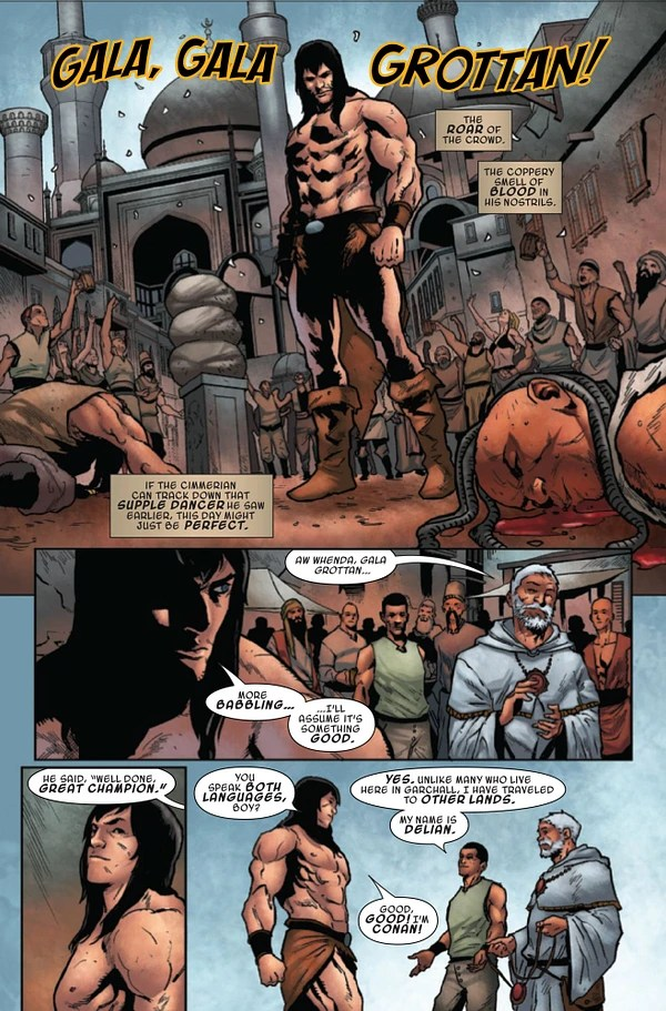 Conan the Barbarian #13 [Preview]