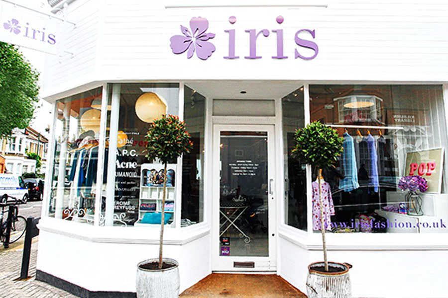 Iris fashion shop Queens Park