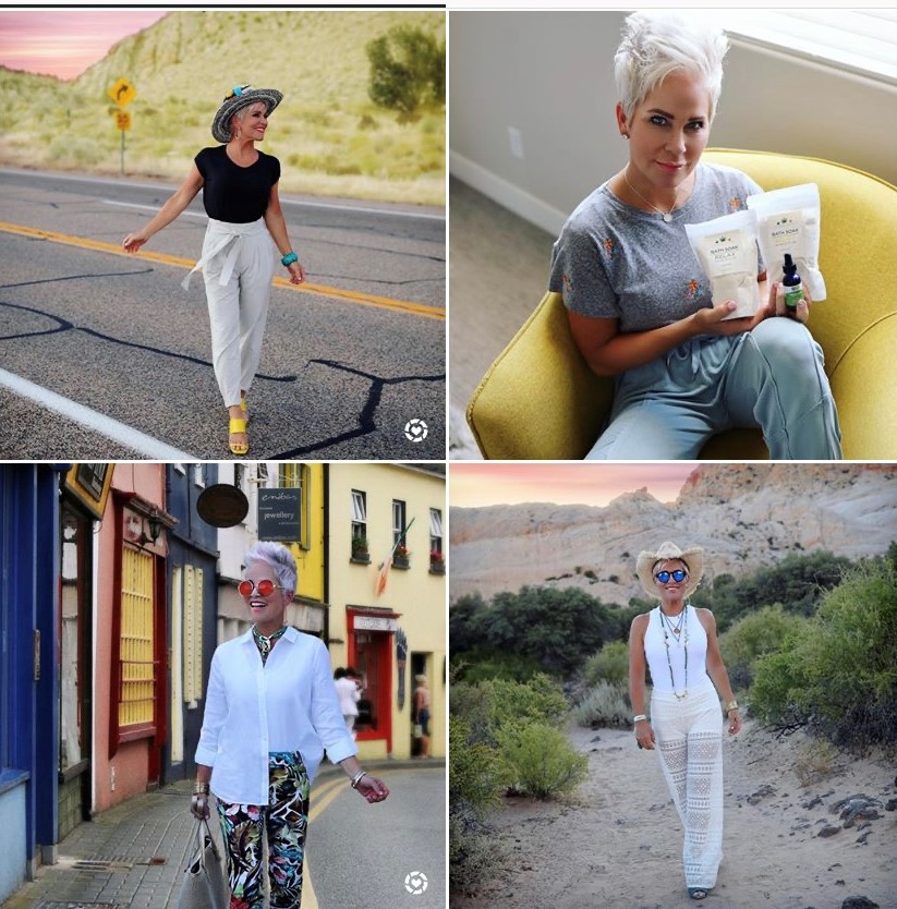Chic Over 50 Instagram account
