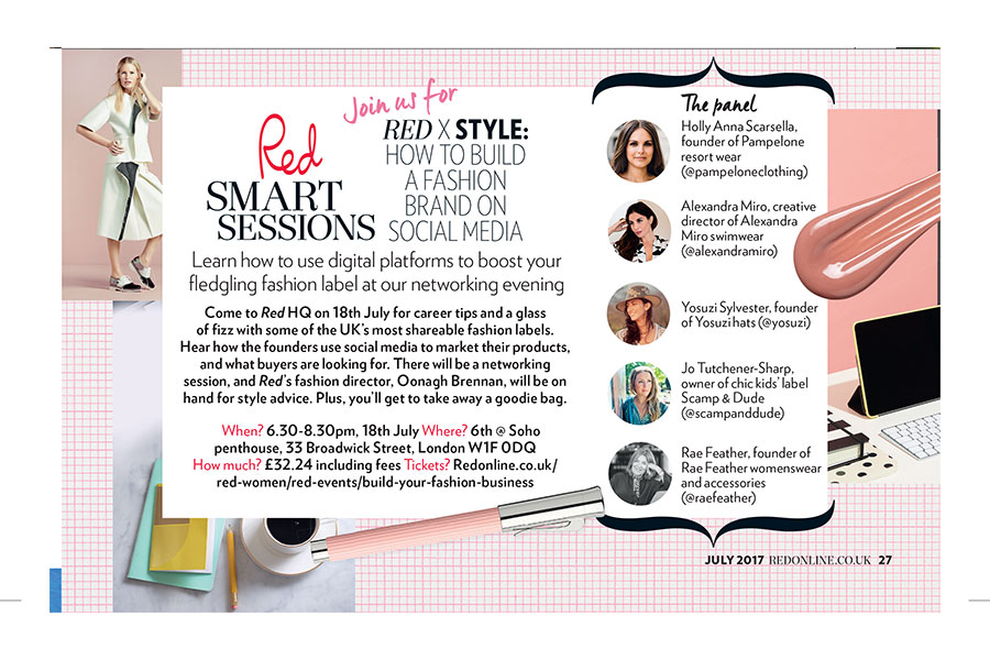 Alexandra Miro joins Red Smart Women discussion