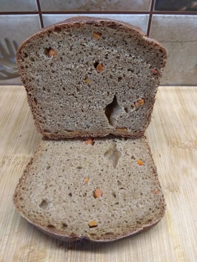 Chléb Burobinskij Špaldový bio s mrkví