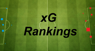 Week 19 xG Match Up Rankings