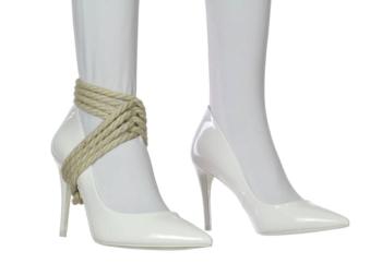 Tie me up Tuesday #11: Heel Tie