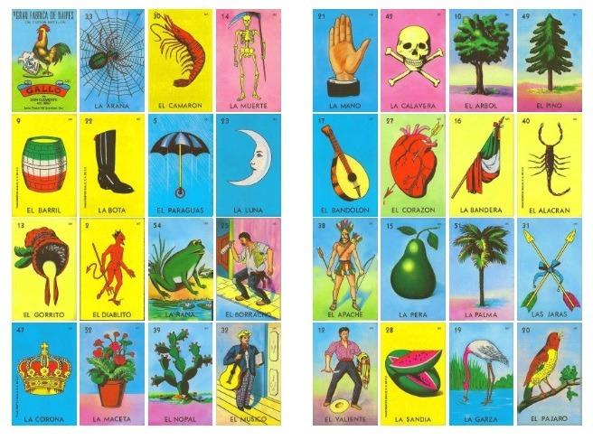 Loteria Imagen Se De Cartas
