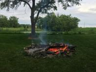 Fire by the River at Otsego Park