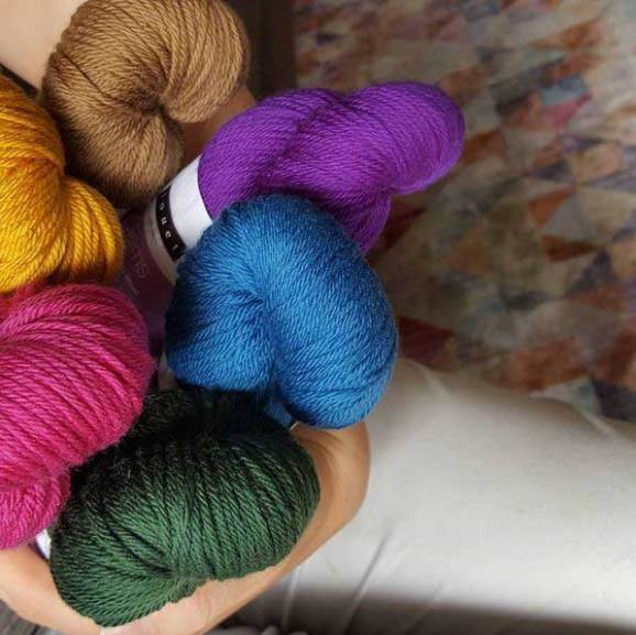 Fall Yarn Trend: Jewel Tones