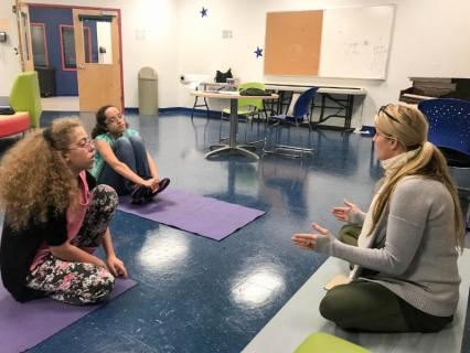 Fall Art Yoga And Social Justice Institute Empowers Long Island Girls Girls Inc Of Long Island