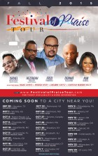 NOV 14: Hougton, Walker, Hammond, McClurkin, Burrell & MORE @ Festival of Praise Tour 2015