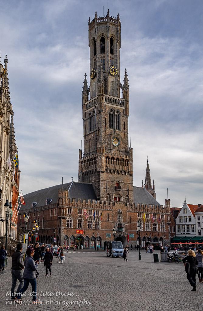 Belfort and Markt, Bruges