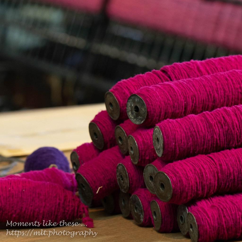 Woolly textures at St Fagans