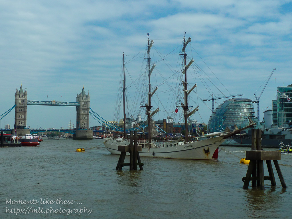 Artemis and Tower Bridge