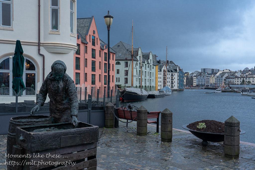The quayside at Ålesund