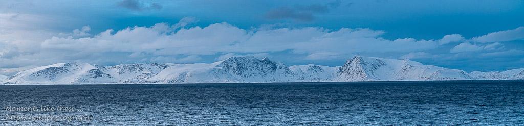 Panorama near Øksfjord