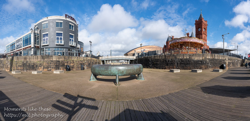 Celtic Ring, Mermaid Quay and the Pierhead - Cardiff Bay