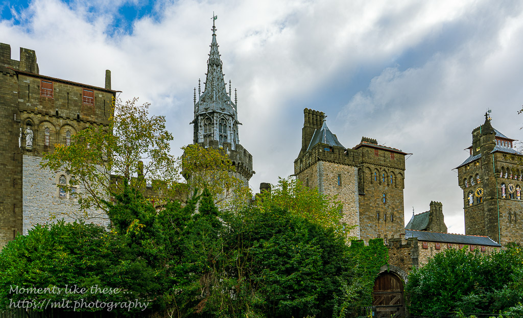 The castle from Bute Park