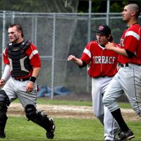 Terrace players celebrate their win. (Photos by Char Blankenship)