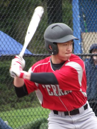 Jordan Yoshida got the Hawks' only hit Wednesday.