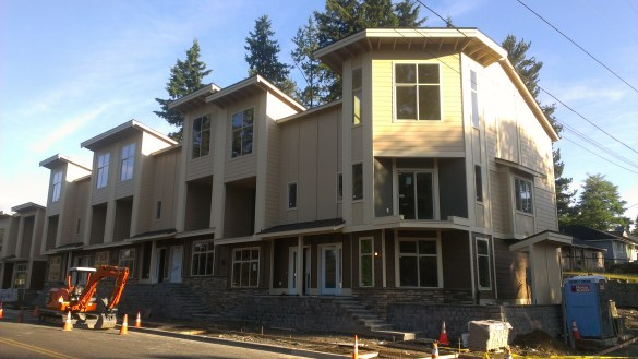 The 234th Street townhomes project.