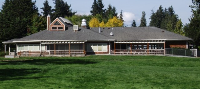 The Ballinger Lake Clubhouse.