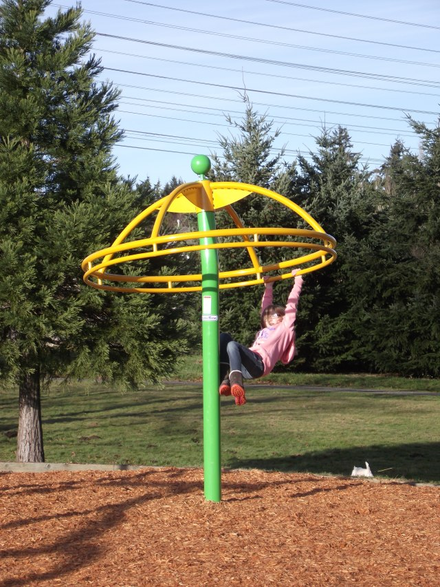 New Brier Park playground, Jan. 5 004