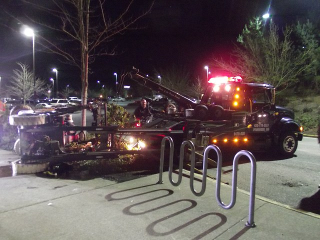 Forklift accident at O'Reilly's site, Feb. 5 001